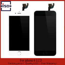 10PCS For Apple iPhone 6 LCD Display Full assembly touch screen digitizer with camera and home button with fast shipping