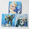 3Pcs/Lot Hot Cartoon Paper Jigsaw Puzzles Toys For Children Princess And Elsa Olaf Kids Educational Toy 2+ Years
