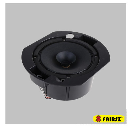 Germany waterproof 8 inch ceiling speaker with back cover - Waterproof sound system for bathroom ...