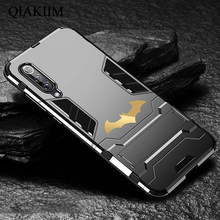 Batman Kickstand Case Voor Samsung Galaxy A70 A50 A40 A30 M20 M10 J6 J8 A6 A7 A8 Plus Cases Shockproof armor TPU + PC Tough Cover(China)