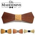 2017 hombres Calientes de La Manera de madera pajarita Accesorio de la boda Evento de madera de Madera de la Pajarita Para Los Hombres de Mariposa krawatte Corbatas Gravata