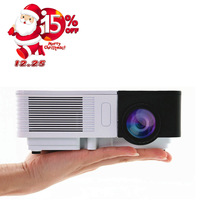CAIWEI HD 1080 p HD Mini Projector Draagbare 100LM Outdoor Home Theater Cinema Film TV Smart Telefoon Projectie