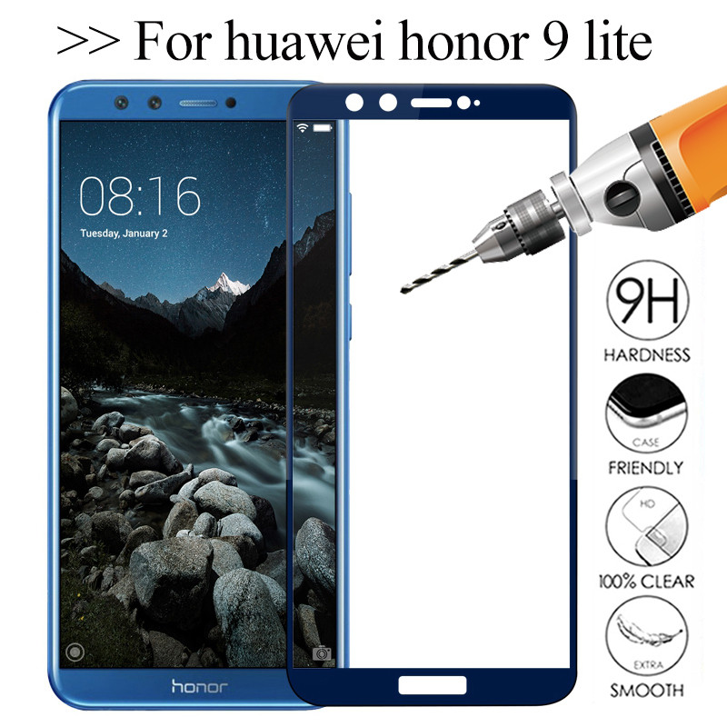 Honor 9 Lite Glass For Huawei Honor 9 Lite Tempered Glass On Honor 9 Light Safety Protective Glas Hono 9lite Honor9lite 3D Cover
