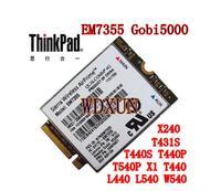 Sierra Wireless Airprime Em7355 Qualcom Gobi5000 Ngff 4g Lte Module For Lenovo X240 T440 T540 W540 Fru:04w3801 Network Modem