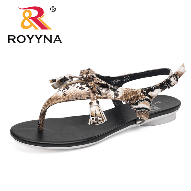 ROYYNA New Arrival Fashion Style Women Sandals Outdoor Walking Summer Shoes Light Beach Slippers Women Soft Fast Free Shipping royyna new sweet style women sandals cover heel summer gingham women shoes casual gladiator ladies shoes soft fast free shipping