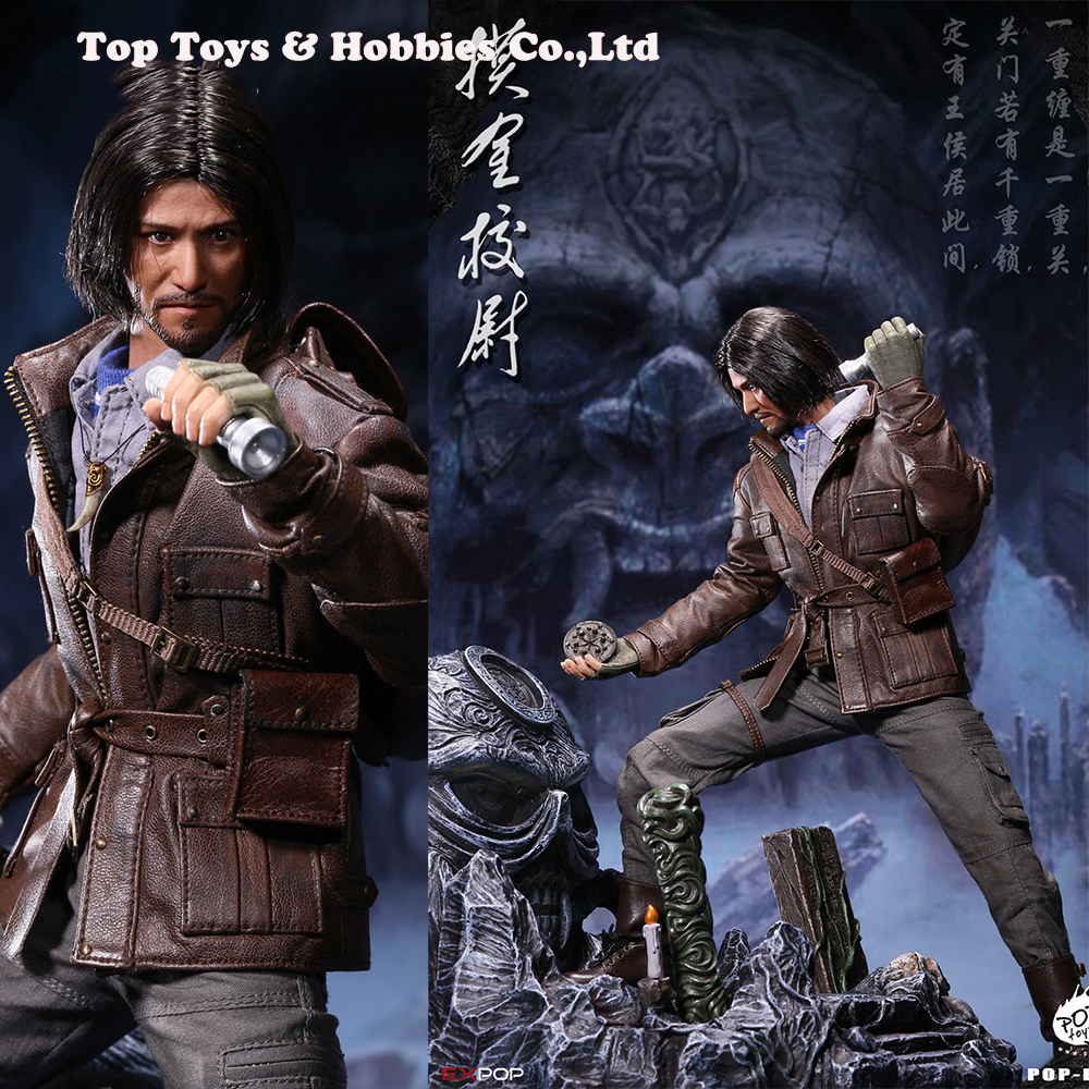 Full set 1/6 scale POPTOYS EX011 1/6 Scale Adventurer Touching Gold captain A Standard Edition B Deluxe Edition Full set 1/6 scale POPTOYS EX011 1/6 Scale Adventurer Touching Gold captain A Standard Edition B Deluxe Edition