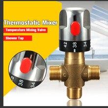 Xueqin латунные трубы термостат кран Термостатический смесительный клапан ванная комната контроль температуры воды кран картриджи