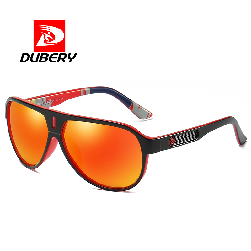 59efd4257d DUBERY Brand Design Polarized HD Sunglasses Men Driving Shades Male Retro  Sun Glasses For Men Large frame Square Oculos UV400