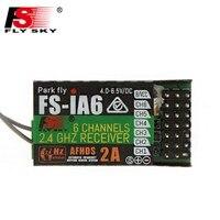 Hot Sale FlySky FS IA6 2 4G 6CH AFHDS Receiver For FS I10 FS I6 GT2E