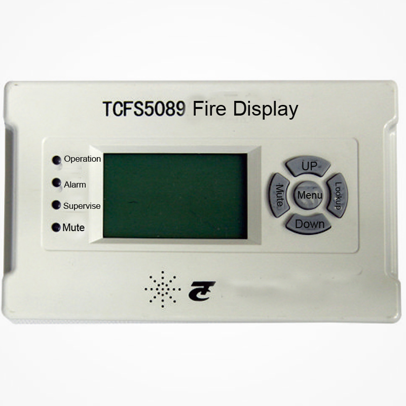 TCFS5089 Fire Display Panel Intelligent Fire Indicating Panel Work With Tc Fire Alarm System