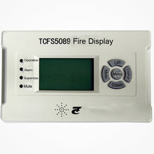 TCFS5089 Fire Display Panel work with tc fire alarm system