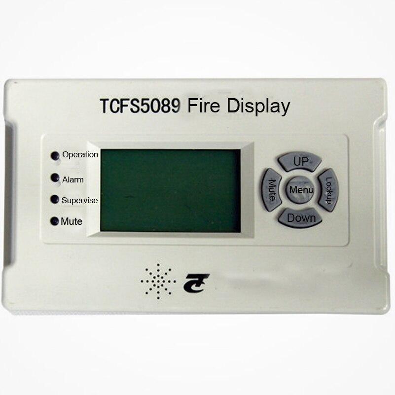 Tcfs5089 огонь Дисплей Панель работать с tc пожарной сигнализации