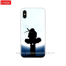 Anime Naruto Cover Phone Case For Iphone 6 X 8 7 6s 5 5s SE Plus 10