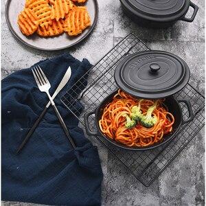 Image 4 - Подставка для торта с черной сеткой, для выпечки, хлеба, фотостудии