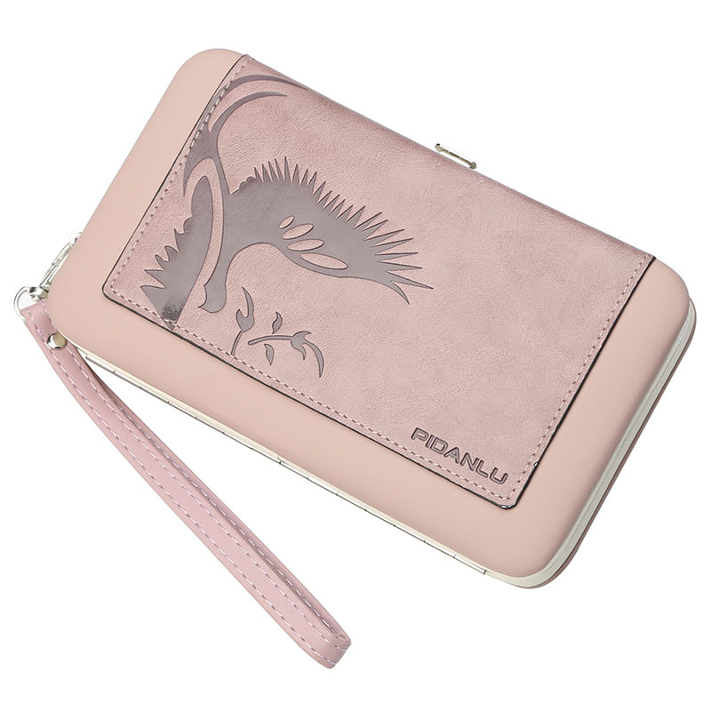 Women Wallet New Fashion Ladies Long Wallet Zipper PU Leather Wallet Famous Brand Clutch Purse Female Card Holder with Coin Bag retro color graffiti wallet women clutch pu leather wallet purse and fresh and ladies wallet mrs coin purse female money bag