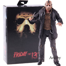 NECA Friday the 13th Jason Voorhees Action Figure 2009 Deluxe Edition PVC Horror Collectibles Model Toy