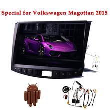 10.2 дюймов Android 4.4 автомобиль без DVD GPS плеер для Volkswage Magotan 2015 Автомобиля Стерео Авторадио Видео Аудио головного устройства canbus