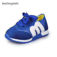 2018 Новий літній дитячий кросівки Повсякденне взуття Комфортні хлопчики Дівчата Дитяче спортивне взуття Дихаючі сітчасті сандалії