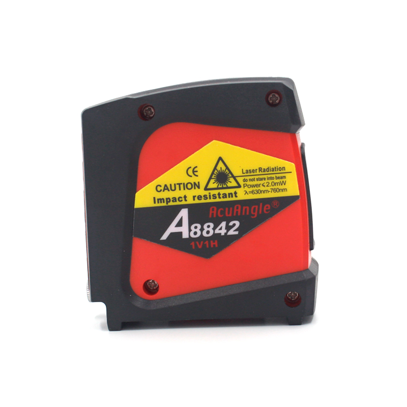 ACUANGLE A8842 Red Laser Level 360 Self leveling Rotary 1V1H1D 2 Lines Nivel a Laser Horizontal