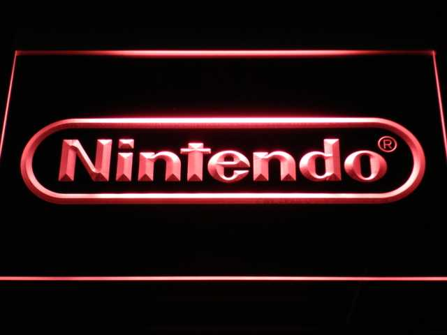 e021 Nintendo Game Room Bar Beer LED Neon Light Signs with On/Off Switch 20+ Colors 5 Sizes to choose sent in 24 hrs