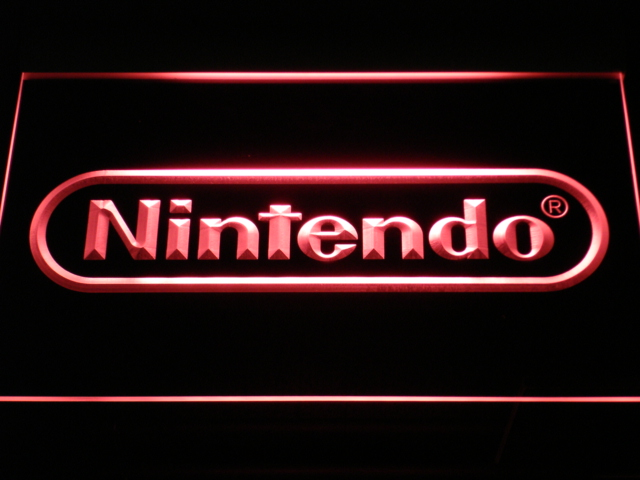 E021 Nintendo Game Room Bar Bier Neonzeichen mit On/Off schalter 20 Farben 5 Größen zu wählen gesendet in 24 stunden