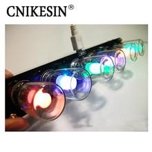 CNIKESIN Creative 51 SCM DIY Electronic Kits Color Cube Aurora LED Colored Glaze Clock