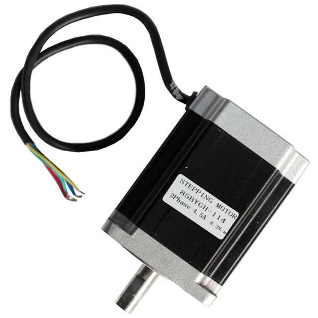 85 stepper motor stepper motor drive 85BYGH-114mm long moment 8.2N.m for cnc router rc2604h stepper motor drive 578 586