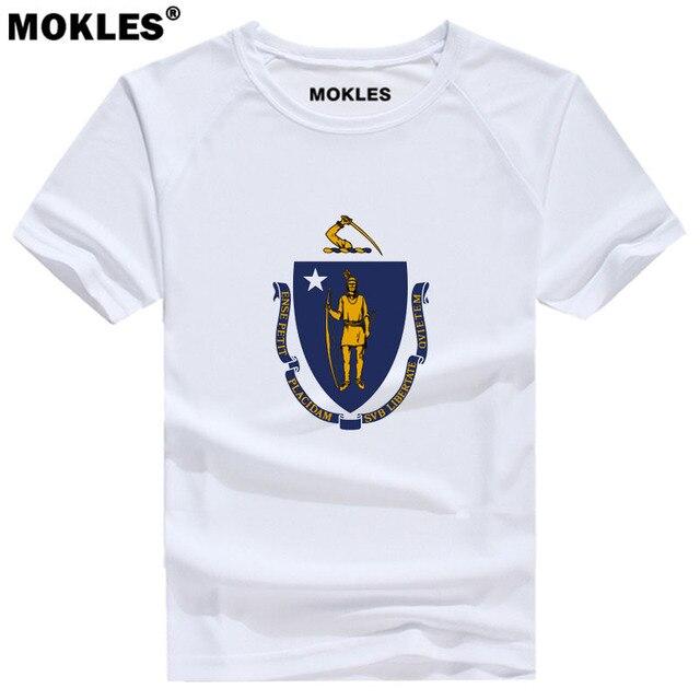 b47b07dbb7 MASSACHUSETTS camiseta número de encargo Boston MA camiseta América Nueva  Inglaterra Springfield Worcester Salem Amherst ropa