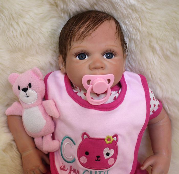 Pinky Handmade 20 Inch 50cm Realistic Reborn Baby Doll Real Looking Baby Toddler