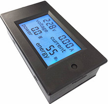 digital wattmeter 20A AC Multifunction Digital LED Power Panel Meter Monitor Power Energy Voltmeter Ammeter