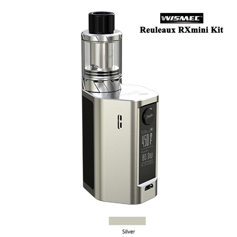 100% Original WISMEC Reuleaux RX mini Kit 80W Box MOD 2100mAh Bult-in Battery rx mini 80w Mod with 2ml Atomizer Tank (6)