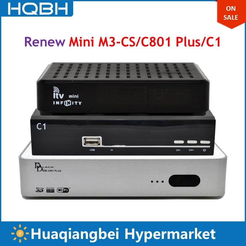 Renew Annually Mini M3-CS C801 Plus C1 TV Set Top Box for Singapore mxm fan meeting singapore