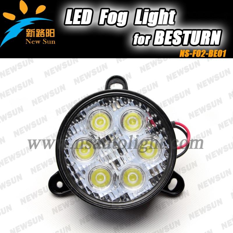 Easy installation car led light fog lamp for Besturn B50 B70 ...