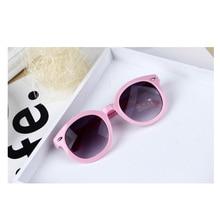 2018 Fashion Brand Kids Sunglasses Child Black Sun Glasses Anti-uv Baby Sun-shading Eyeglasses Girl Boy Sunglass