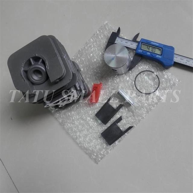 41MM CYLINDER KIT CHROME COAT FOR PARTNER McCULLOCH MAC CAT 742 840 842  CHAINSAW PISTON RING PIN CLIPS ASSEMBLY