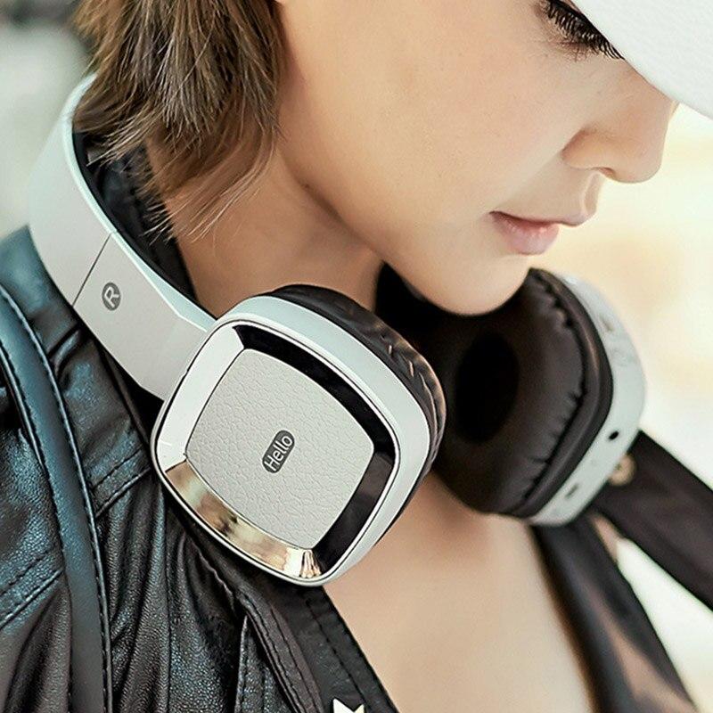 Wireless adjust waterproof Bluetooth headphones V4.0 HiFi Stereo Headset T6 Headband With Microphone TF Card Slot for iphone