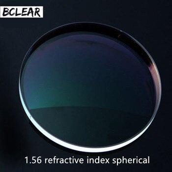 BCLEAR 1.56 الصلب الصفر كروية العدسات وصفة طبية البصرية عدسة الديوبتر قصر النظر القراءة قصو البصر قصر نظر بعيد النظر