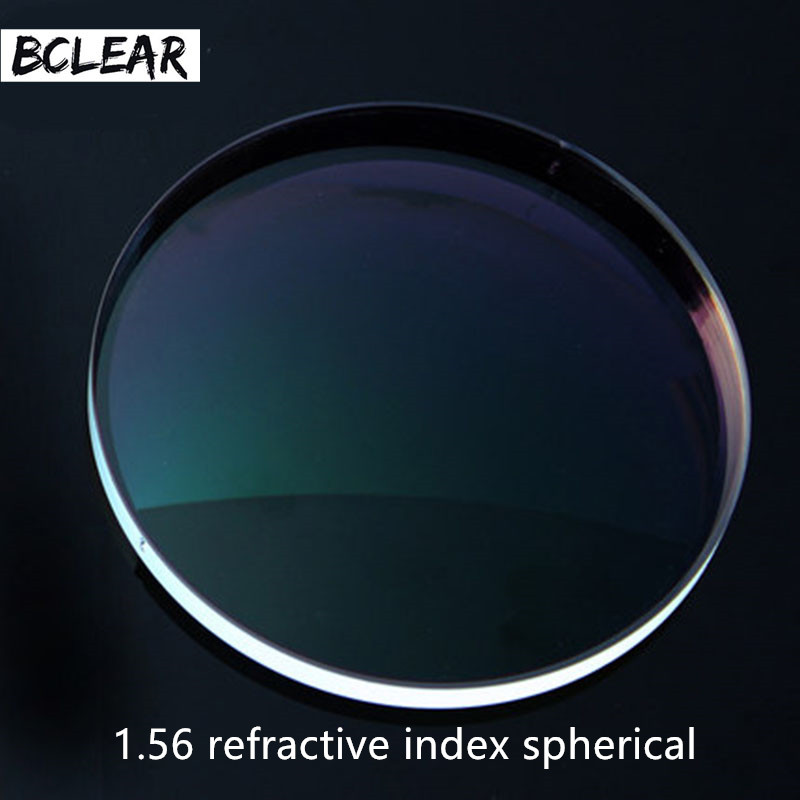 BCLEAR 1,56 Hard Scratch Spherical Prescription Linser Optisk Lins Diopter Myopi Reading Presbyopia nærsynet fremsynet