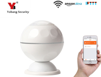 Yobang Security Wifi Wireless APP Remote Control Infrared PIR Motion Sensor Detector Alarm For Smart Home Automation