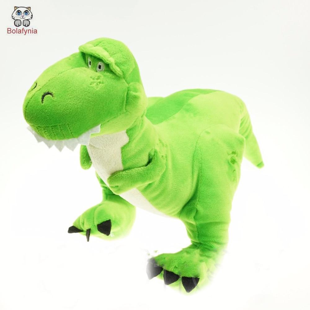 Los niños de BOLAFYNIA rellenaron los dinosaurios de peluche de Toy Story para el regalo de cumpleaños de Navidad.