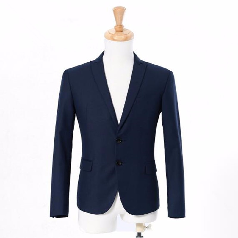 11.1Men suits jacket latest design single breasted formal work suits  jacket custom made groom wedding tuxedos jacket