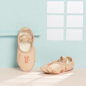 Image 1 - Buty do tańca dziewczyny baletki dla dziewczynek dzieci dzieci wysokiej jakości dziewczyny buty do tańca buty do tańca skórzane podeszwy balerinki