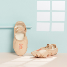 Dance shoes Girls Ballet Shoes for Girls Kids Children High Quality Girls Dance Shoes Dance Slipper Leather Sole Ballerina Shoes cheap SL-816 Ballet shoes dance shoes for girls Canvas Ballet Dance Yoga Boutique