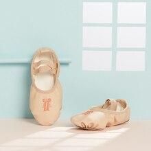 Scarpe da ballo Delle Ragazze di Balletto Scarpe per le Ragazze Dei Capretti Dei Bambini Delle Ragazze di Alta Qualità Scarpe Da Ballo Suola di Cuoio Danza Pantofola Ballerina Scarpe