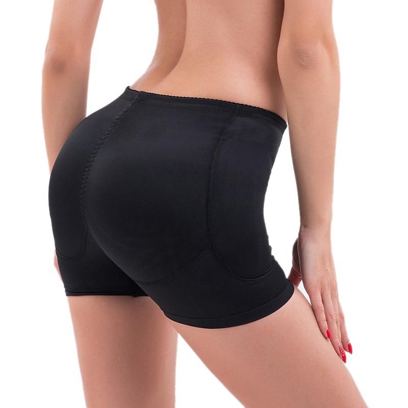 Women Lace Padded Seamless Butt Hip Enhancer Shaper Panties Underwear Short V314