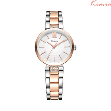 KIMIO Women's Watches Rhinestone Bracelet Watch Quartz Wristwatches  Relogio Feminino TOP BRAND