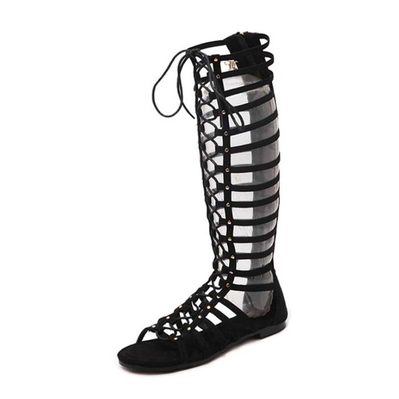 Large Size 2019 Sexy Gladiator Sandals Women Sandals Women Cross-tied Flat Heel Lace Up Cut Outs Hollow Shoes Woman Large Size 2019 Sexy Gladiator Sandals Women Sandals Women Cross-tied Flat Heel Lace Up Cut Outs Hollow Shoes Woman