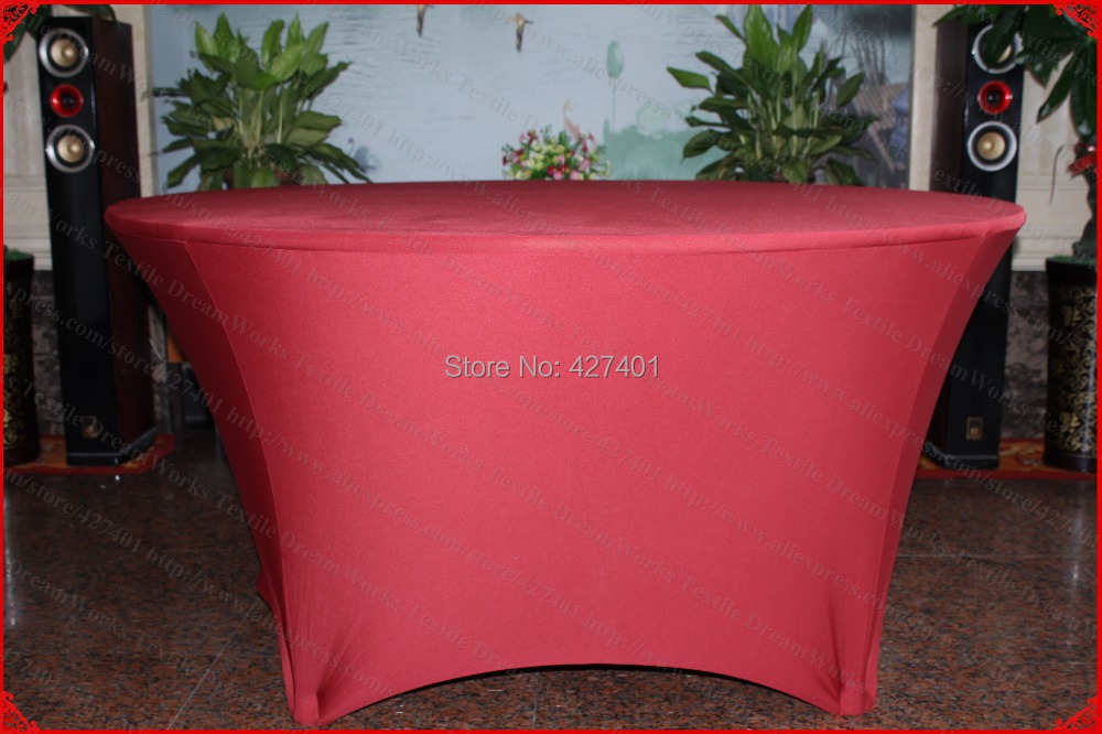 burgundy chair covers wedding faux leather pad இburgundy red lycra spandex table cover tablecloth runner for hotel banquet party home decor textile
