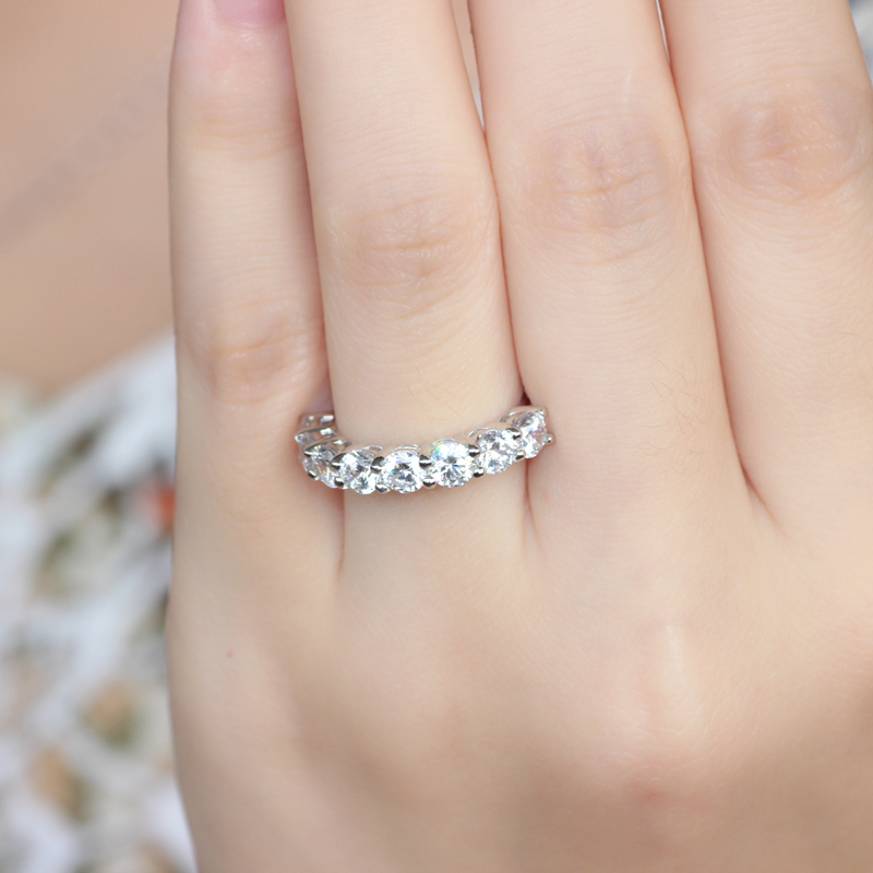 band man half stone ct wanelo wedding rings engagement eternity diamond bands on shop made carat