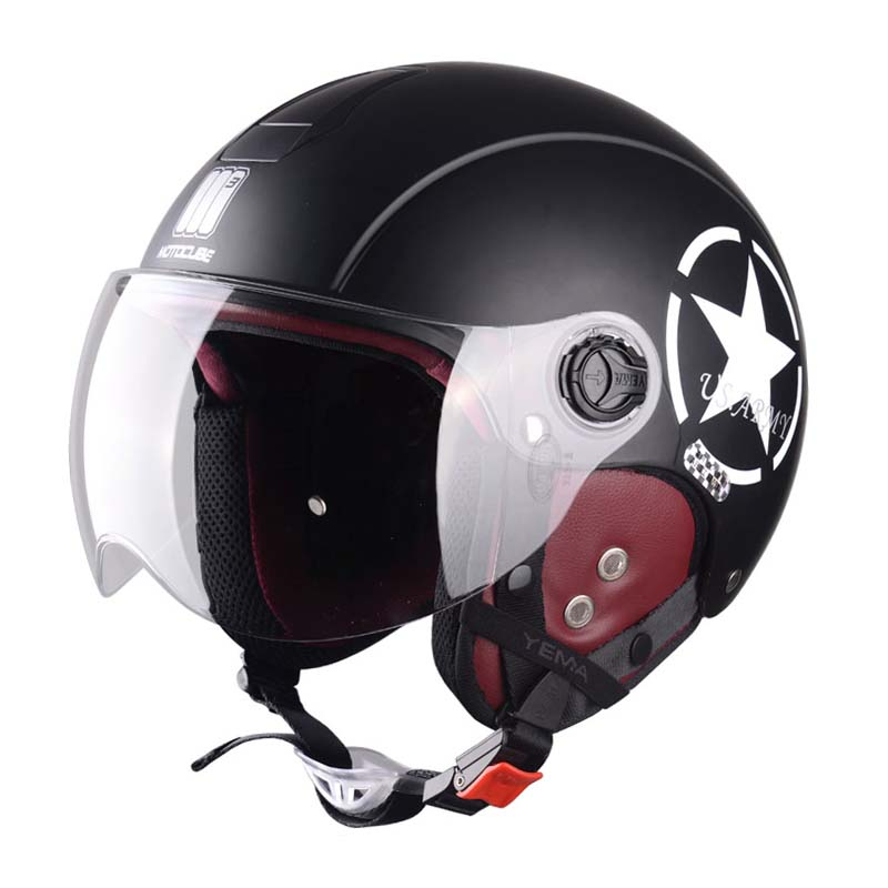 Semi-Packed Muntjac Sude linner Sunscreen Electric Vehicle Helmet Motorcycle Motociclet Half Casco Capacete Helmets + gift tabSemi-Packed Muntjac Sude linner Sunscreen Electric Vehicle Helmet Motorcycle Motociclet Half Casco Capacete Helmets + gift tab